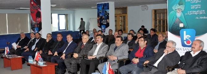 Maden Sektör Sanayicileri Konya Sanayi Odası'nda Buluştu