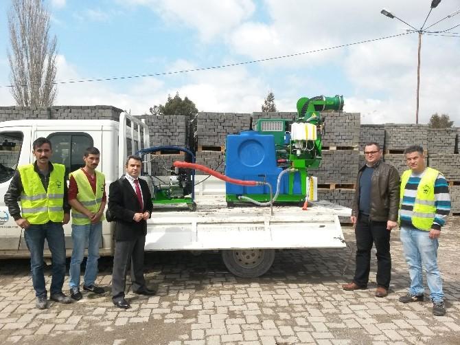 Söke Belediyesinde İki Yeni İlaçlama Makinesi