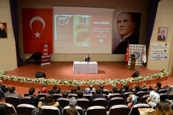 "Tokat'ta ""Çanakkale Ruhu"" Konferansı"