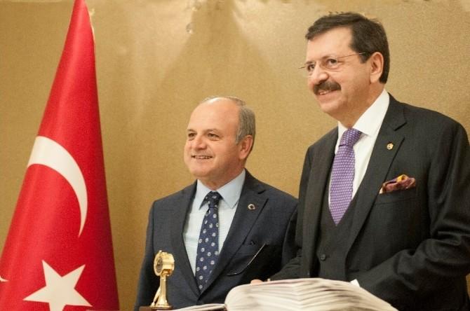Hisarcıklıoğlu'ndan Vali Çakacak'a Ziyaret