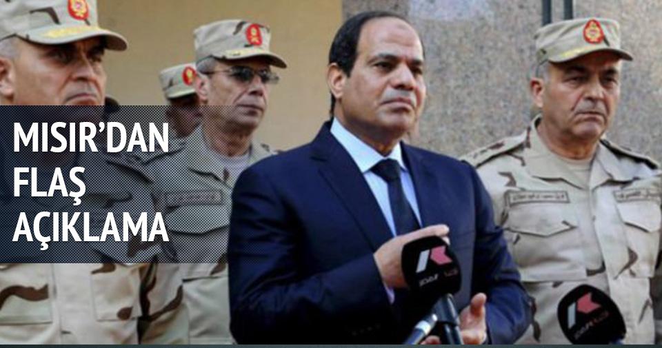 MISIR'DAN AÇIKLAMA: DESTEKLİYORUZ