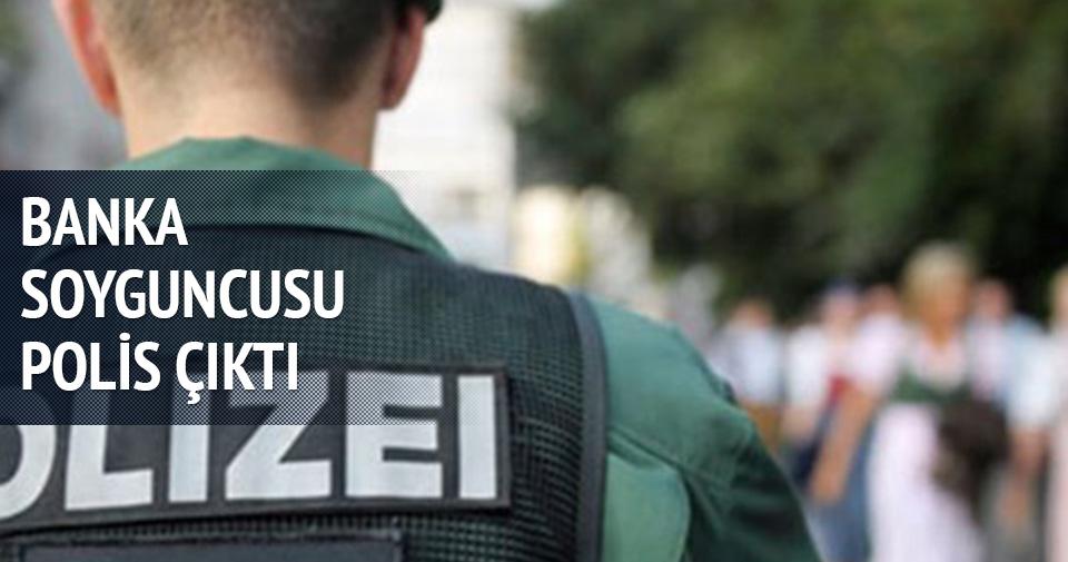 BANKA SOYGUNCUSU POLİS ÇIKTI