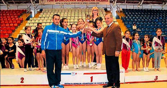 Cimnastikte ödül zamanı