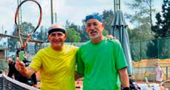 Atlıspor Kulübü'nde tenis turnuvası