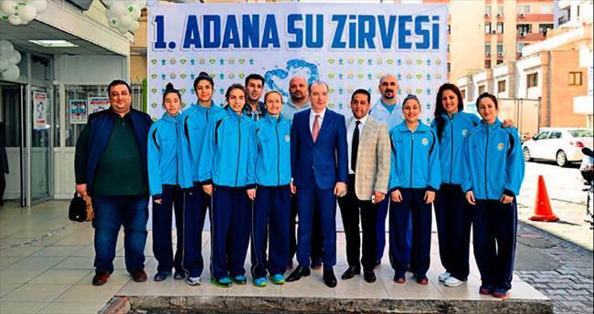 Adana ASKi Spor'dan 1. Su Zirvesi'ne destek