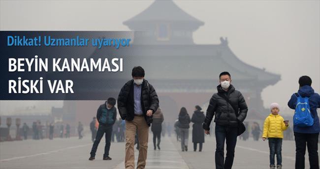 Hava kirliliği beyin kanaması riski
