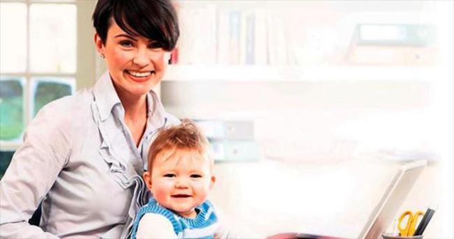 Çalışan anneye bakıcı parası