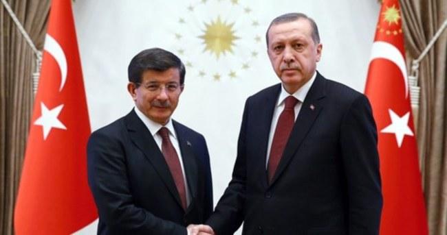 Erdoğan-Davutoğlu görüşmesi gerçekleşti