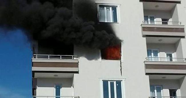 Gaziantep'te öğrenci evinde patlama