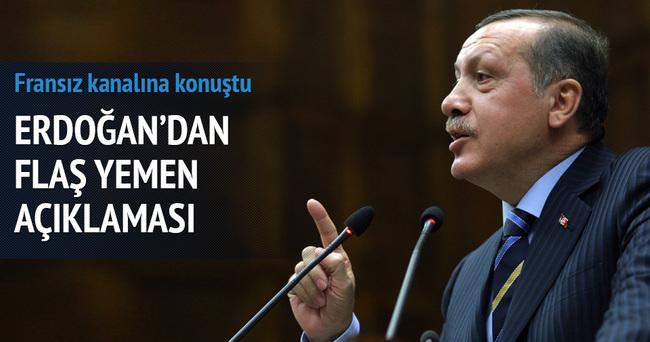 Erdoğan'dan flaş Yemen açıklaması