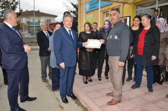 """""""24 Günde 24 Ayar Okul"""" Projesi Kapanış Programı Düzenlendi"""