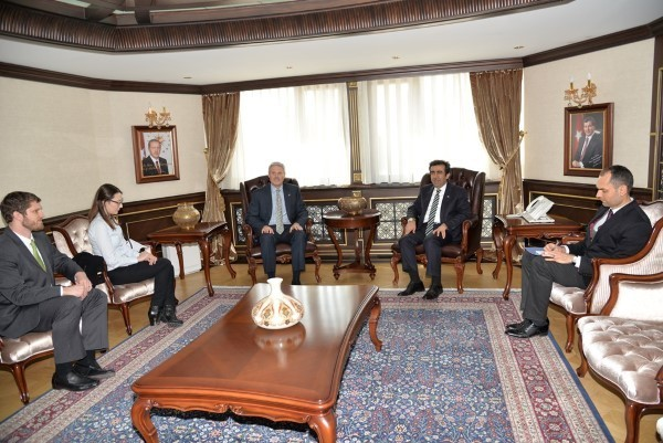 ABD Büyükelçisi'nden Kocaeli Valiliği'ne Ziyaret