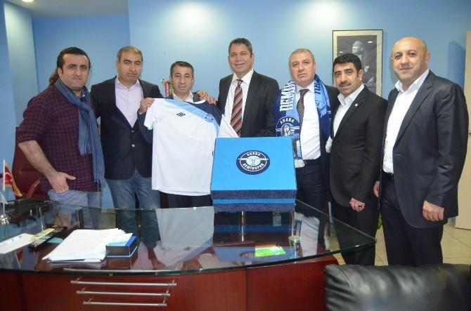 Eski Yöneticilerden Adana Demirspor'a Destek