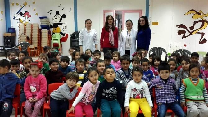 Öğrencilere Ağız-diş Hijyen Eğitimi