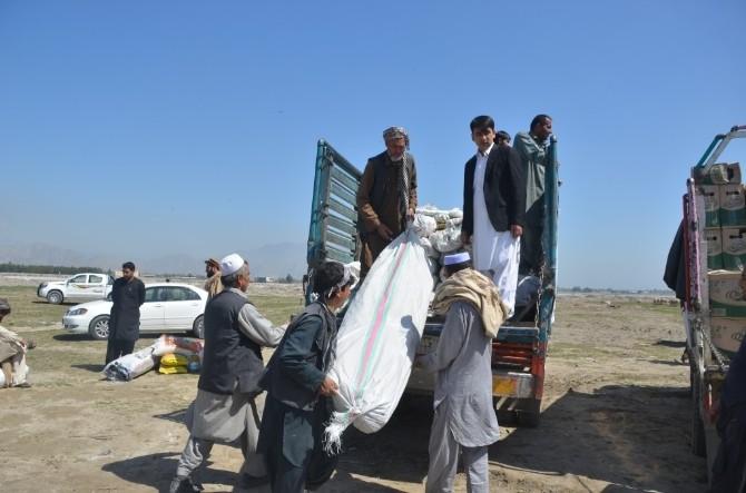 Afganistan'daki Sel Felaketinde TİKA Yardım Elini Uzattı