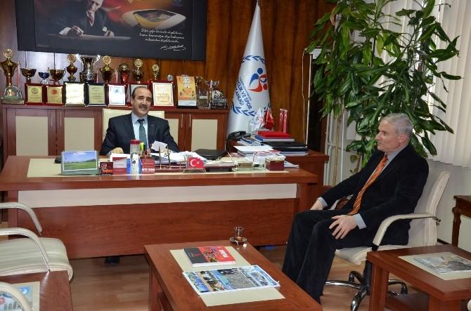 BİK Malatya Şube Müdürü Nihat Abacı'dn İade-i Ziyaretler