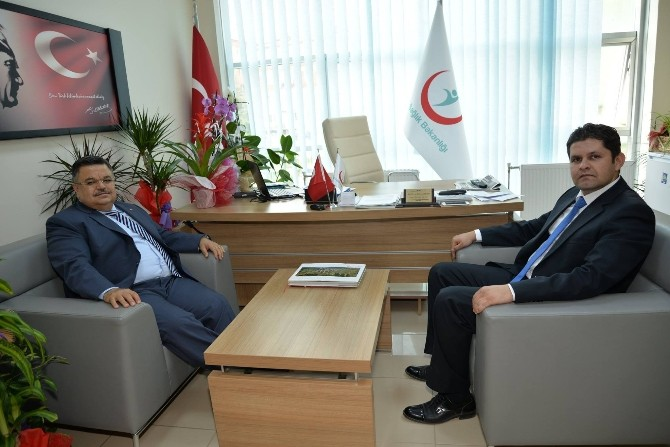 Başkan Yağcı'dan Genel Sekreter Öztop'a Ziyaret