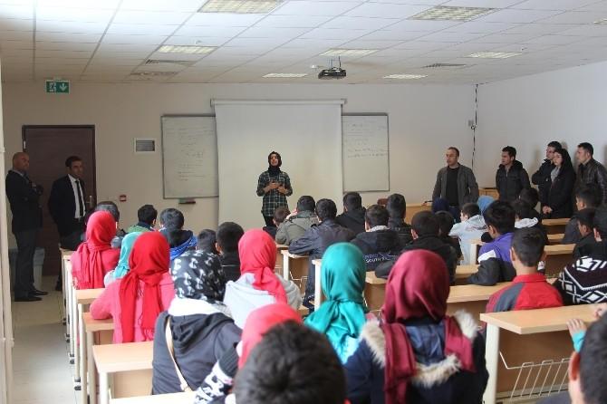 Yibo Öğrencileri Eren Üniversitesi'ni Gezdi