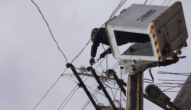 Uyarıları Dikkate Almayanların Elektriği Kesildi