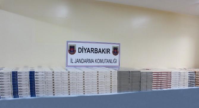 Diyarbakır'da 19 Bin 876 Paket Kaçak Sigara Ele Geçirildi
