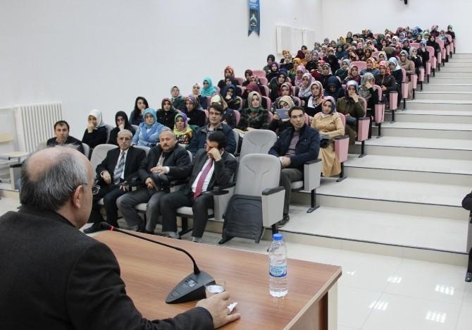 Elazığ'da 'Risalet Öncesi Hz. Peygamber' Konferansı