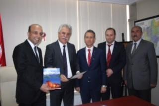ESDER Kayseri Şubesi CHP İl Başkanlığı'nı Ziyaret Etti