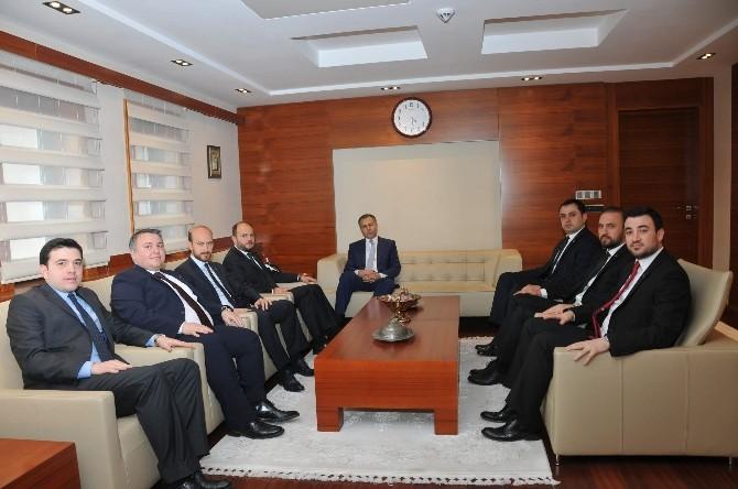 Gagiad Yönetim Kurulu Vali Ali Yerlikaya İle Görüştü