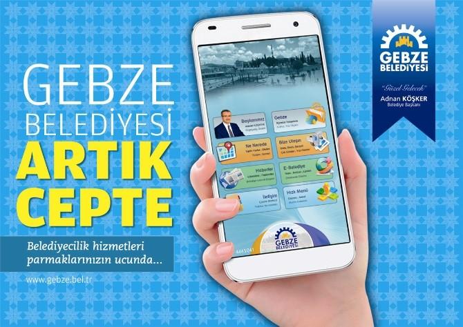 Gebze Belediyesi'nden Mobil Uygulama