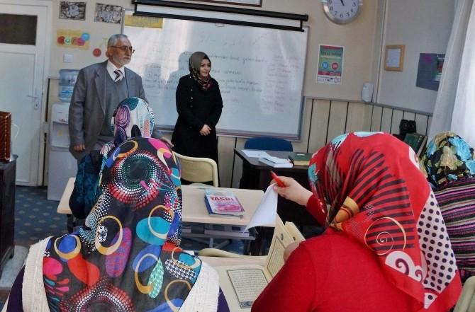 Müftü Cengiz'den Kırka'daki Kur'an Kursuna Ziyaret