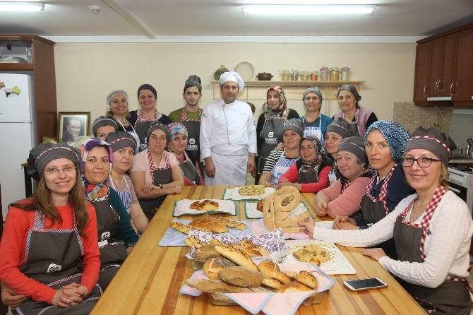 Mutfak Sevdalıları Ekmekler Kursunu Tamamladı