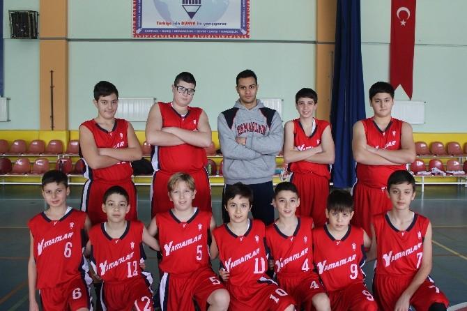 Yamanlar Küçük Erkekler Basketbol Takımı Yarı Finalde