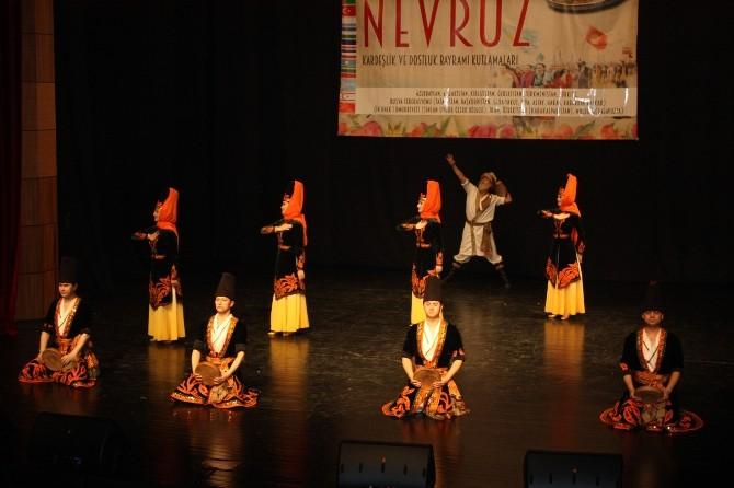 Türk Dünyası Nevruzu Samsun'da Kutladı