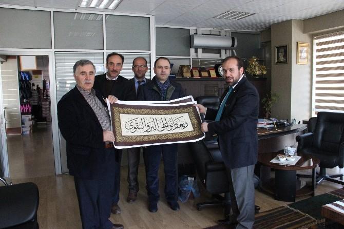 Tdv Erzurum Şubesi Tarafından Hayır Sahiplerine Ziyaret