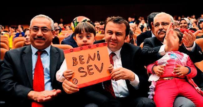 Kahramanmaraş'ta down sendromlular unutulmadı