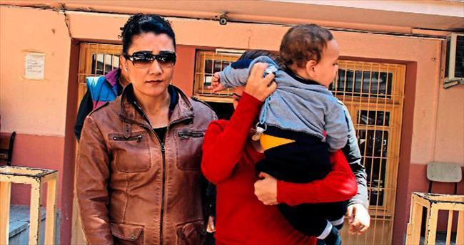 Dolandırıcı kadın 6 aylık bebeğiyle cezaevine girdi