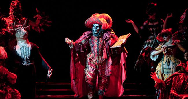 """""""Operadaki Hayalet"""" dev prodüksiyonu ile Zorlu'da"""