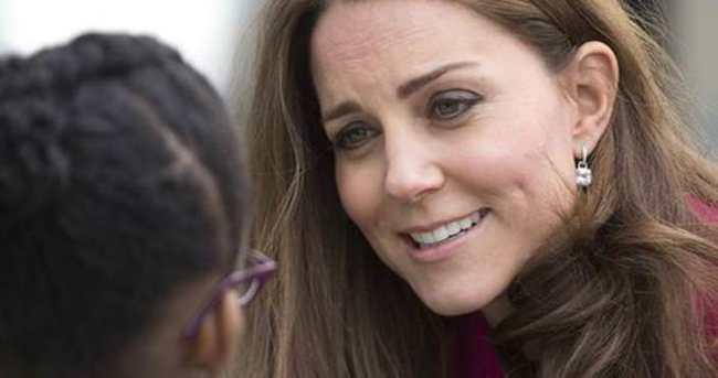Kate Middleton doğumdan önce son görevi