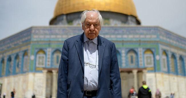 Kudüs şairi Nuri Pakdil Kudüs hayalini gerçekleştirdi
