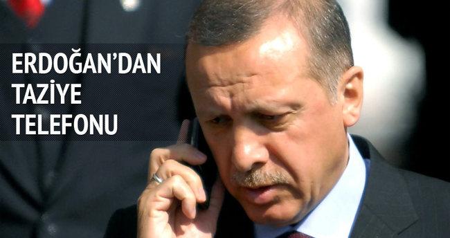 Erdoğan'dan Hollande'a taziye telefonu
