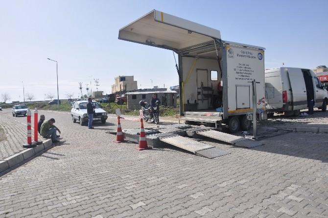 Gezici Araç Muayene İstasyonunda Takipçiler Tarihe Karışıyor