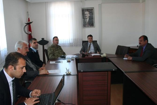 Sincik'te Seçim Güvenliği Toplantısı