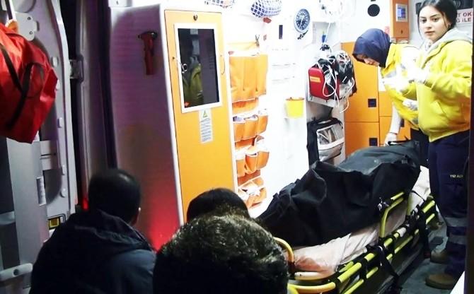 Ağrı'da Battaniyeye Sarılı Erkek Cesedi Bulundu