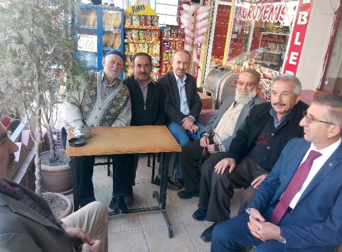 Bozkurt'tan Esnaf Ve Pazar Ziyareti