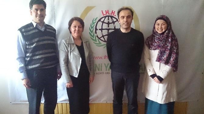 Prof. Dr. Arzu Çiçek İHH Ve Yuder'i Ziyaret Etti