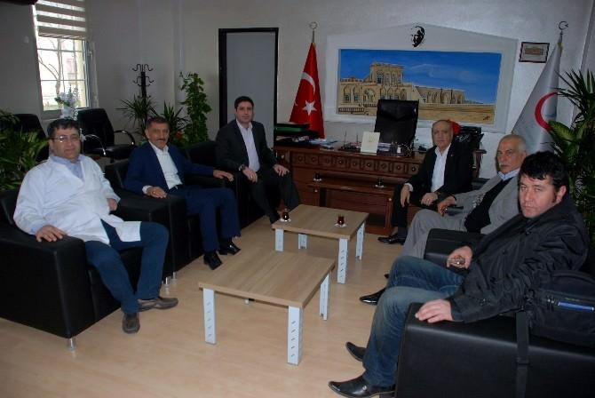 Özkan'dan Midyat Devlet Hastanesi'ne Ziyaret