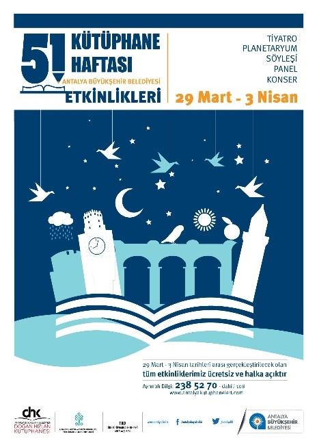 Büyükşehir'den Kütüphane Haftası Etkinlikleri