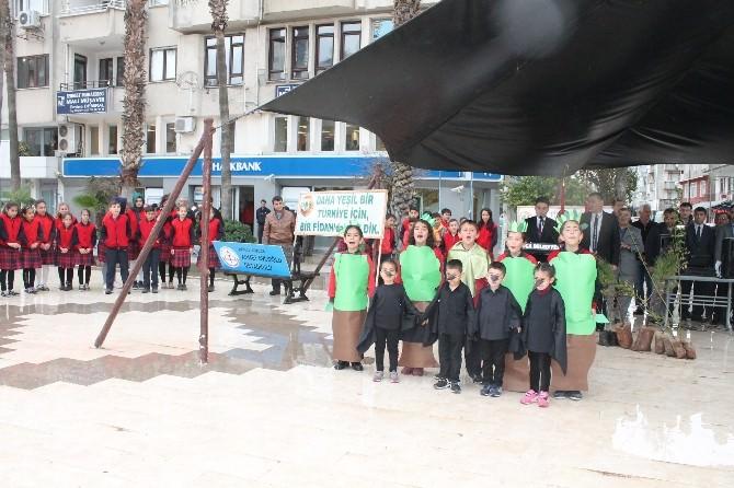 """Kumluca'da """"Ormancılık Günü"""" Kutlaması"""