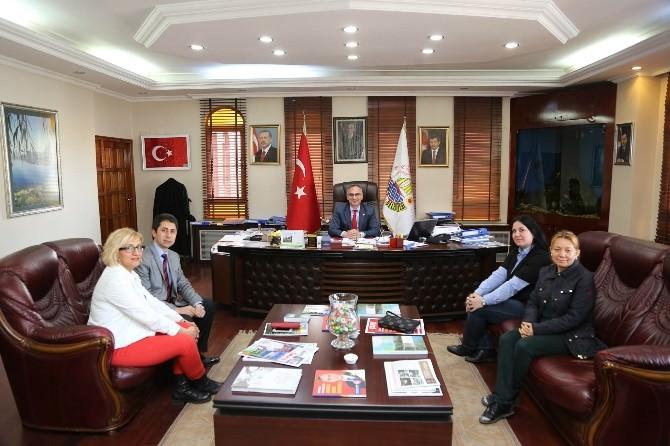 Başkan Yılmazer'e Sapanca İlkokulundan Ziyaret