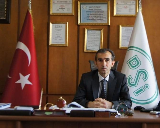 DSİ 21. Bölge Müdürü Yıldız, Daire Başkanı Oldu