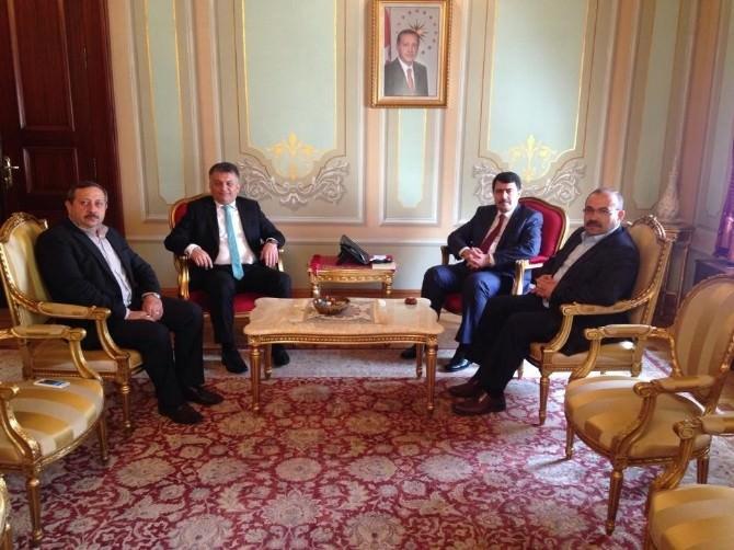 Ustaoğlu, İstanbul Valisi Şahin'i Ziyaret Etti